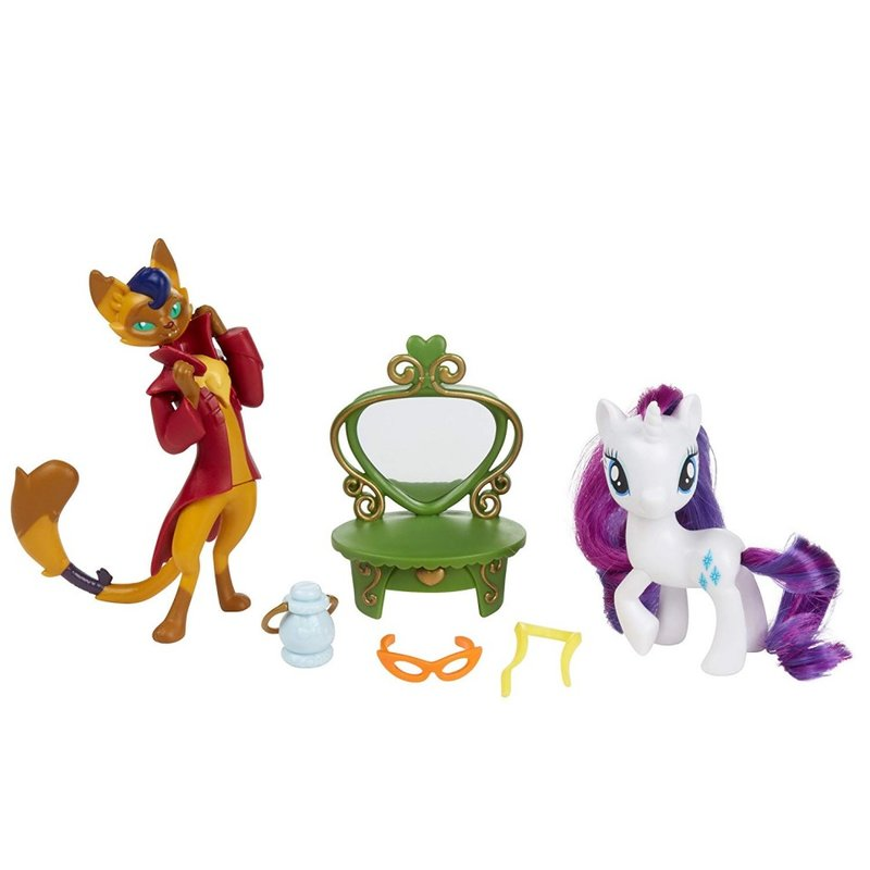 Set de joaca Rarity and Capper Dapperpaws My Little Pony